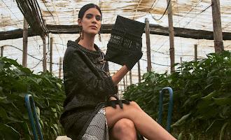 Nace una colección de moda con materiales del invernadero