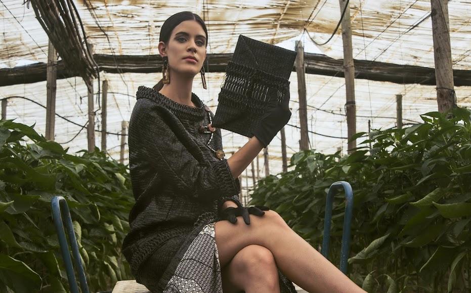 Colección de moda de la diseñadora Elena Funes.