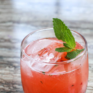 Strawberry Caipirinha with Mint