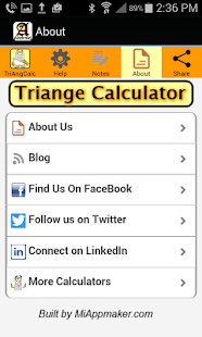 Triangle Calculator Solver- screenshot thumbnail