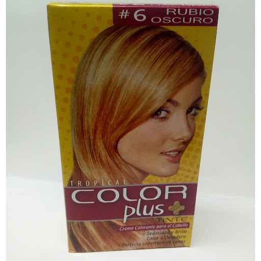 Tinte Color Plus Kit 6 Rubio Oscuro