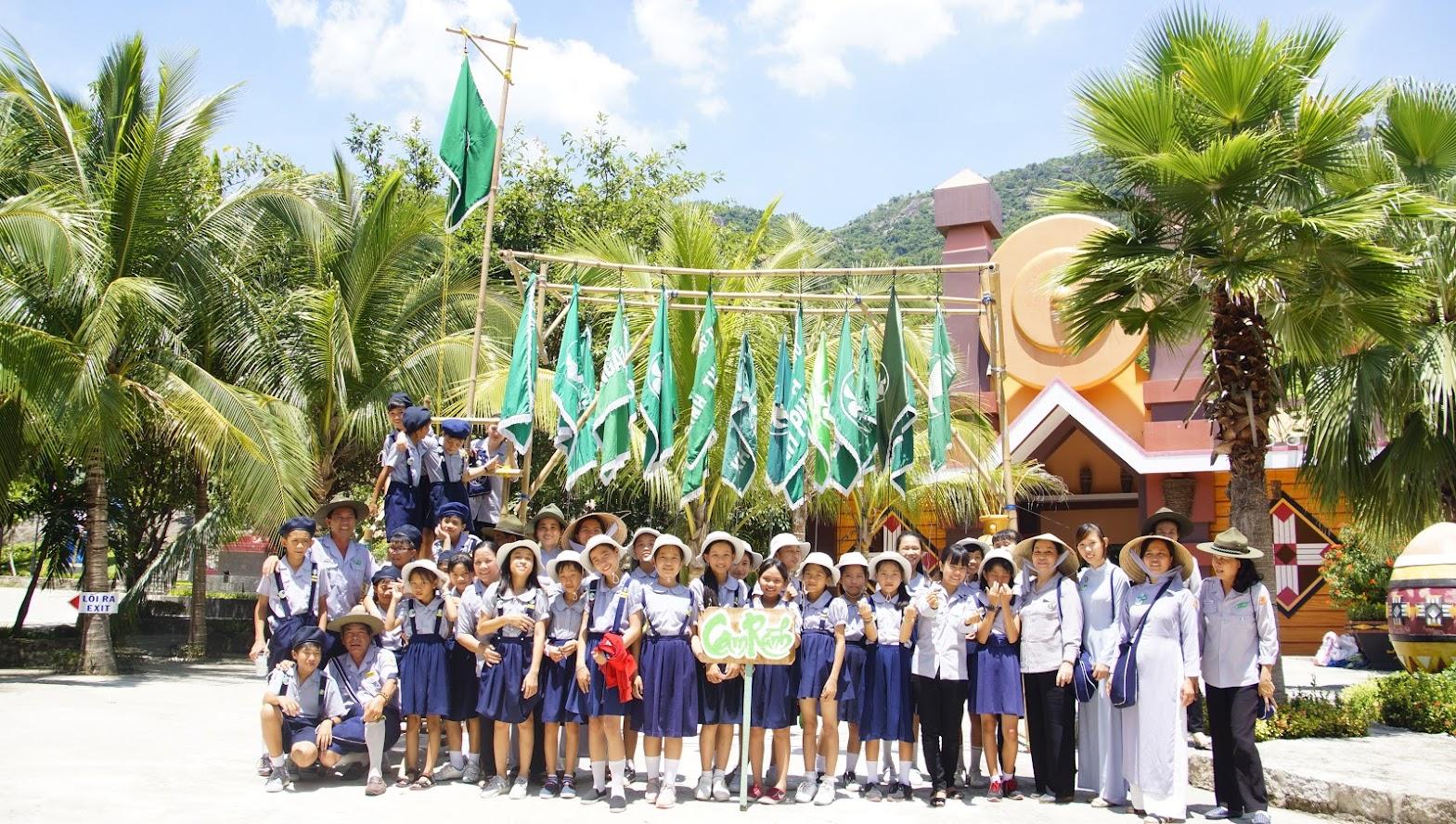 Ngành Oanh tham dự trại họp bạn Nguyên Y năm 2018
