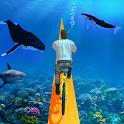 Underwater Bicycle Racing Tracks : BMX Games USA icon