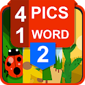 The New: 4 Pic 1 Word icon
