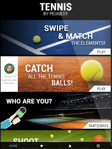 Tennis by Peugeot screenshot 5