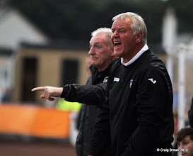 Photo: Berwick Rangers Football Club v Dunfermline Athletic Football Club - Pre Season Friendly Jim Jefferies shouts instructionsAt Shielfield Park, Berwick24/07/2012Craig Brown | StockPix.eu