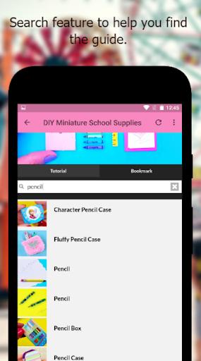 DIY Miniature School Supplies Offline  screenshots 3
