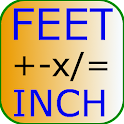 Feet Inch Calculator Free icon