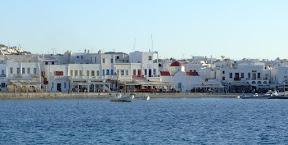 El poble de Mykonos
