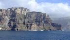Vista de l'illa de Santorini