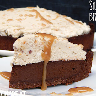 Snickers Brownie Tart