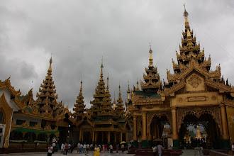 Photo: Year 2 Day 54 -  Temples in Shwedagon Paya in Yangon