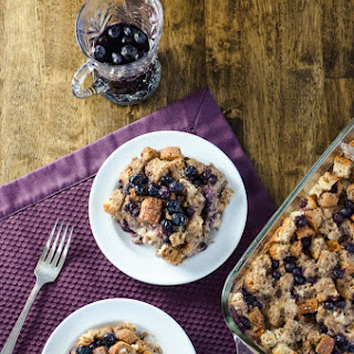 Blueberry Breakfast Casserole {vegan & gluten-free}