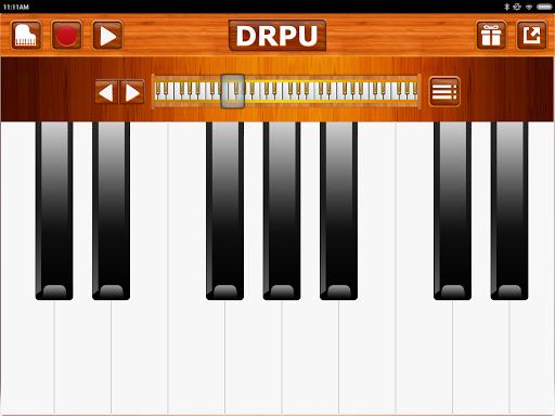Piano Keyboard Music Pro - DRPU PIANO Learning App  screenshots 16