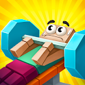 Idle Gym City: fitness tycoon clicker, sport games icon
