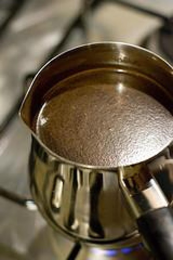 From this point on watch your coffee carefully. Do not let the temperature get...