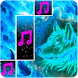 Arctic Piano Wolf Tiles Ice Blue Fire Music Songs