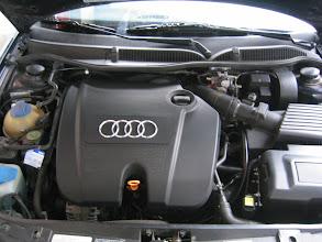 Photo: Motorraum nach Umbau