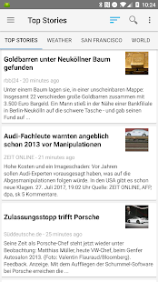 News Google Reader Pro Screenshot