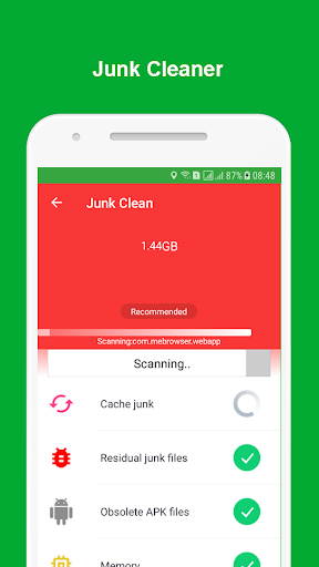 Junk Cleaner - Game Booster & Empty Folder Cleaner 1.0.4 screenshots 1