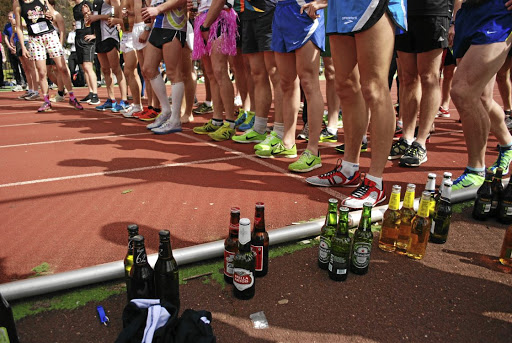 During the Beer Mile, a 1,6km race, runners must stop every 400m to down a beer. Ready, steady, 'glug glug', go!