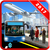 Airport Staff Bus Driving Service Simulator game