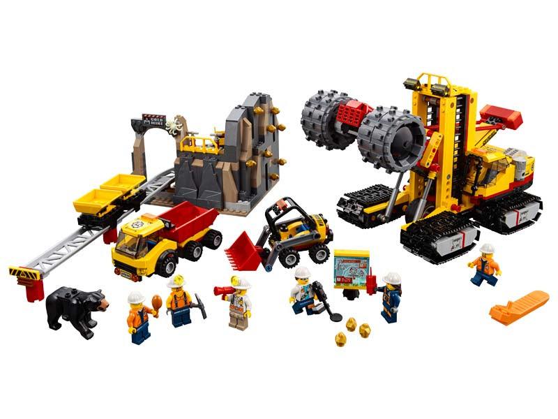 Contenido de Lego® 60188 Mina: Área de Expertos