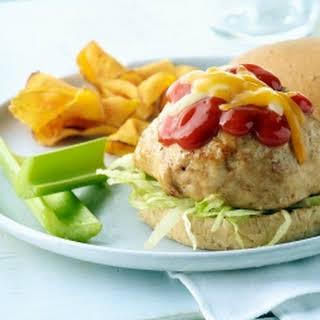Volcano Turkey Burger.