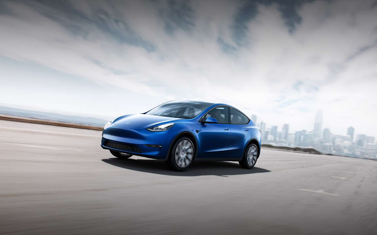 The Tesla Model Y electric SUV was unveiled on Thursday.