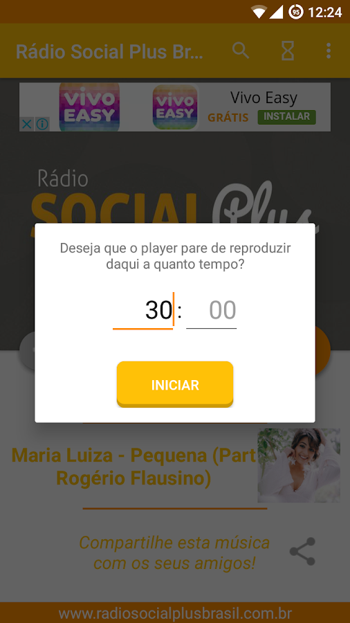 Radio Social Plus Brasil- screenshot