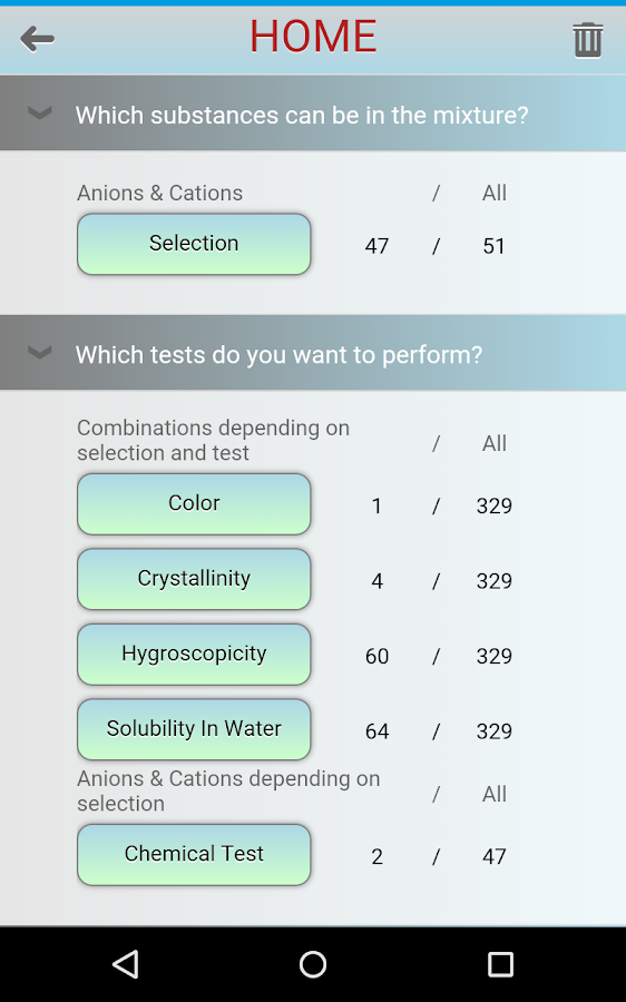 Anion Cation Finder (FlAuMoQ)- screenshot