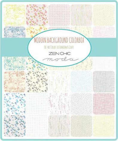 Modern Background Colorbox by Zen Chic Charmpack (11409)