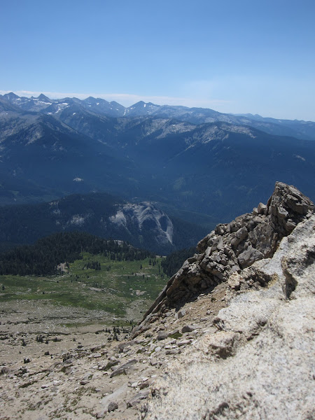 Photo: Fairly awesome 360 view from the top of Alta peak. Or it may have been the altitude induced euphoria.