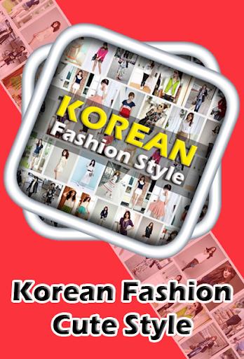 Korean Fashion Cute Style