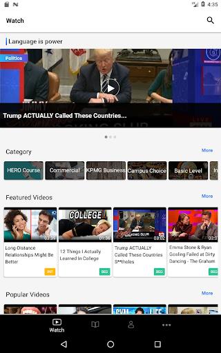 VoiceTube-Learn English Videos 3.1.14.180223 screenshots 7