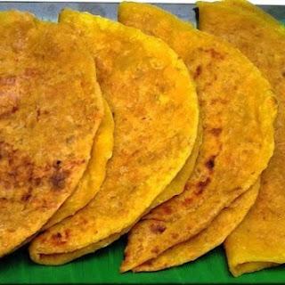 Thengai Poli (Coconut Pooran Poli)