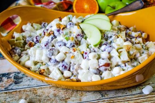Zesty Cranberry Waldorf Salad