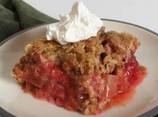 Elsie's Rhubarb Crunch Recipe