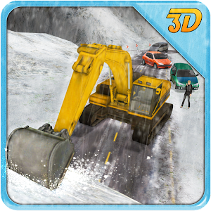 Heavy Snow Excavator Crane SIM for PC and MAC