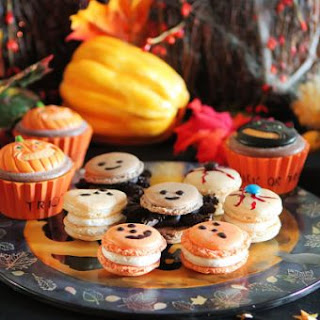 Halloween French Macarons
