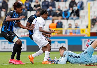 Club Brugge deelt prikje uit aan Percy Tau na de zege tegen Anderlecht