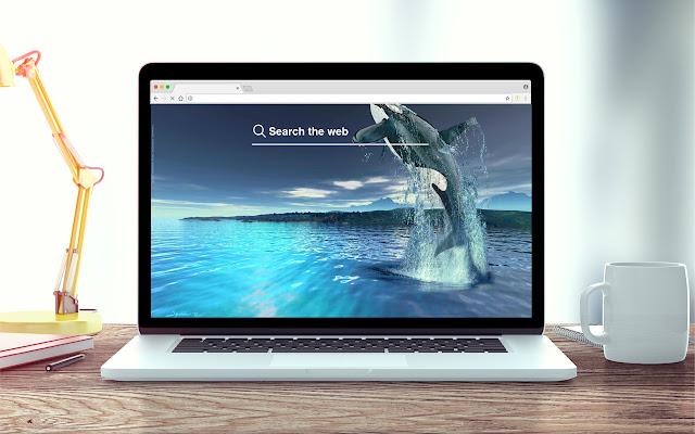 Whale New Tab Ocean Theme
