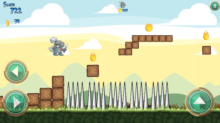 Angry Knight Nature Run - screenshot