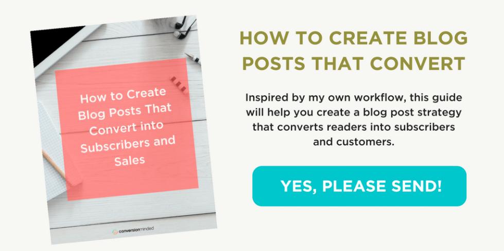 Grab the high-converting blog post cheat sheet!