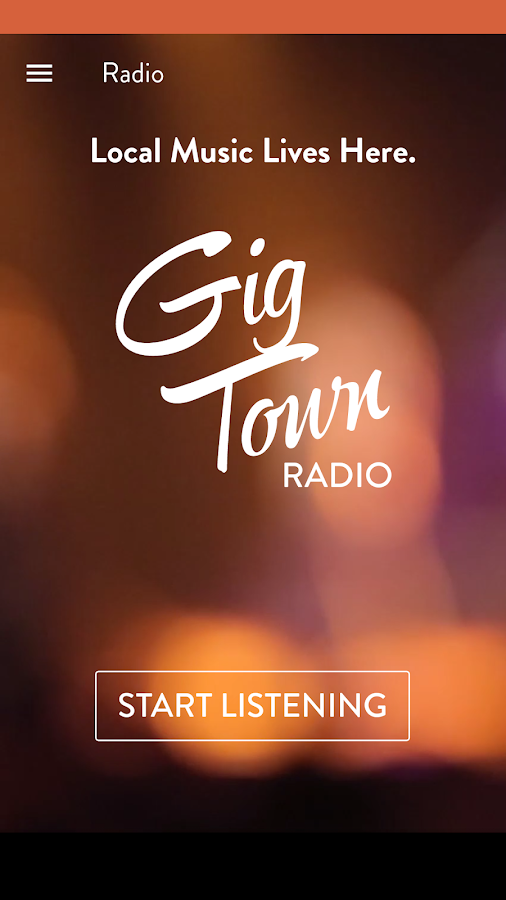 GigTown - Local Music and Gigs- screenshot