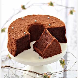 Japanese Dark Pearl Chiffon Cake