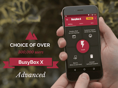 BusyBox X Pro [Root] – 50% OFF X+ 107 (MOD + APK) Download 1