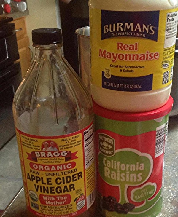 These are some of the main ingredients used for the salad.