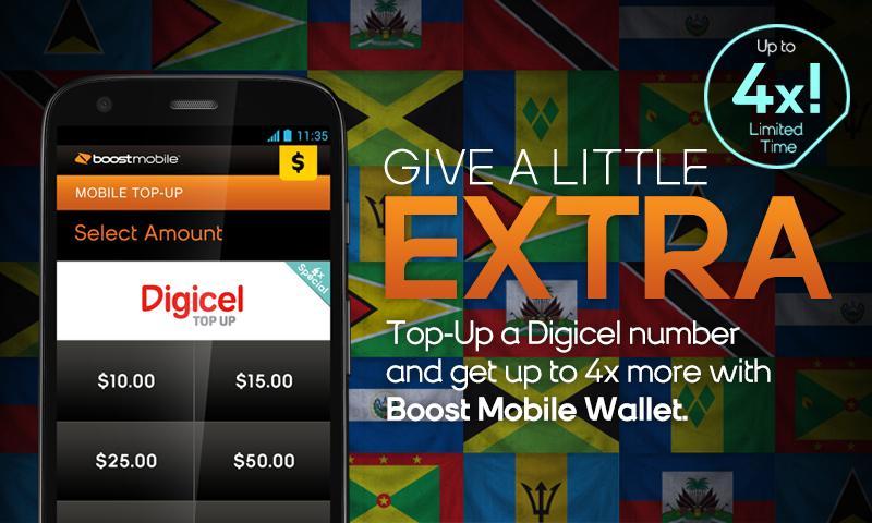 Boost Mobile Wallet - screenshot