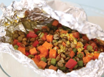 Spice Market Sweet Potato And Lentil Packets Recipe